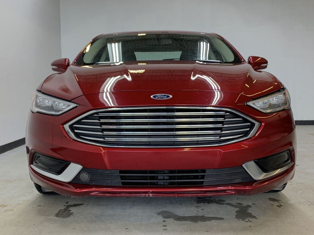 D.RED 2018 Ford Fusion SE -  Apple CarPlay, Remote Start, NAV, Front Vehicle Photo in Edmonton AB