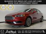 D.RED 2018 Ford Fusion SE -  Apple CarPlay, Remote Start, NAV, Primary Photo in Edmonton AB