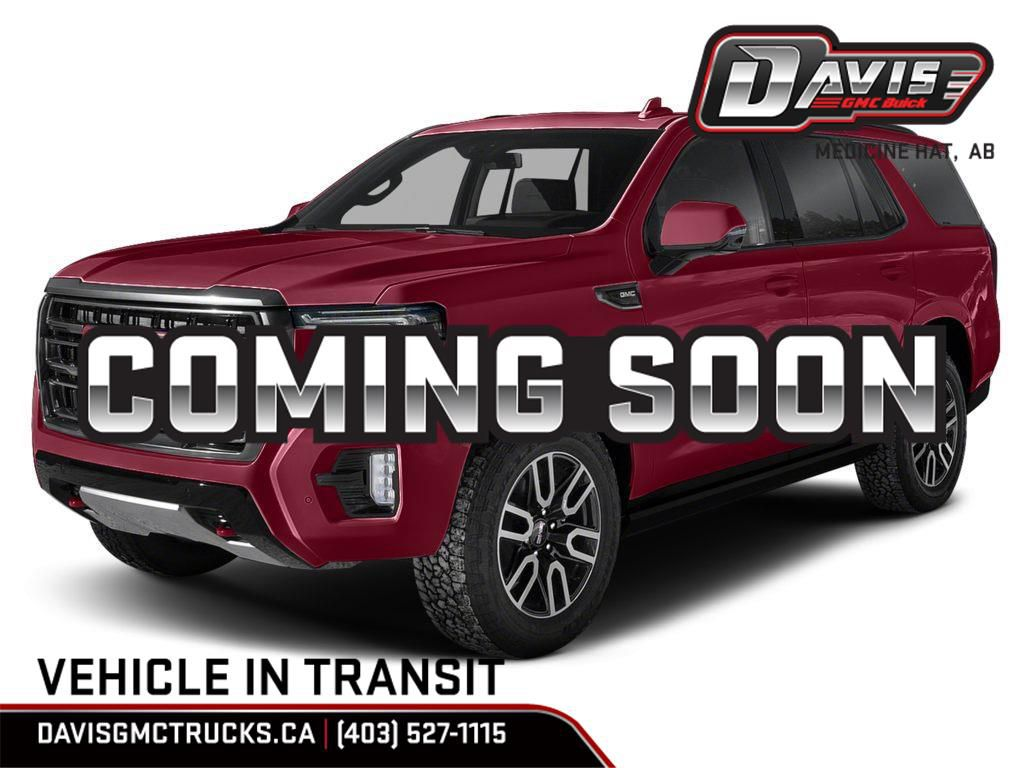 Red 2021 GMC Yukon