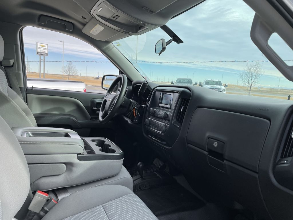 White[Summit White] 2014 Chevrolet Silverado 1500 Driver's Side Door Controls Photo in Fort Macleod AB