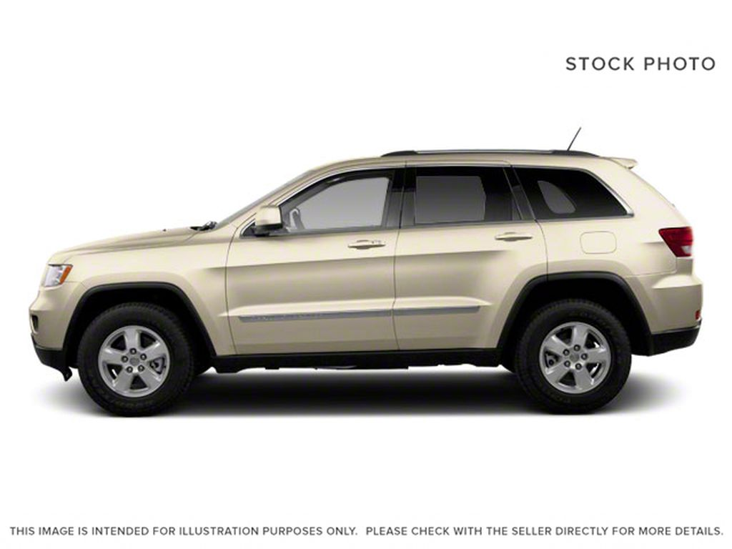 Burgundy 2012 Jeep Grand Cherokee Left Side Photo in Fort Macleod AB