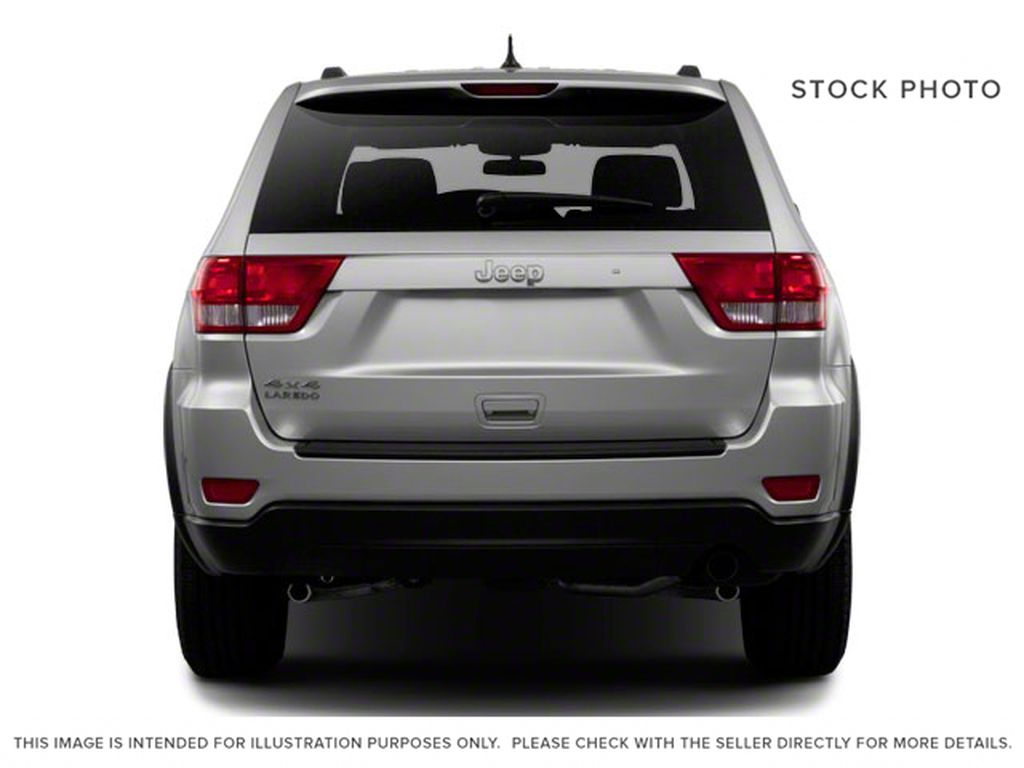 Burgundy 2012 Jeep Grand Cherokee Rear of Vehicle Photo in Fort Macleod AB