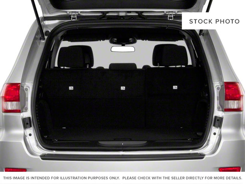 Burgundy 2012 Jeep Grand Cherokee Trunk / Cargo Area Photo in Fort Macleod AB