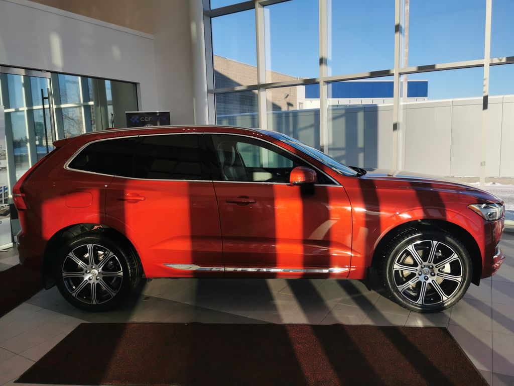 Red[Fusion Red Metallic] 2020 Volvo XC60 Right Side Photo in Edmonton AB