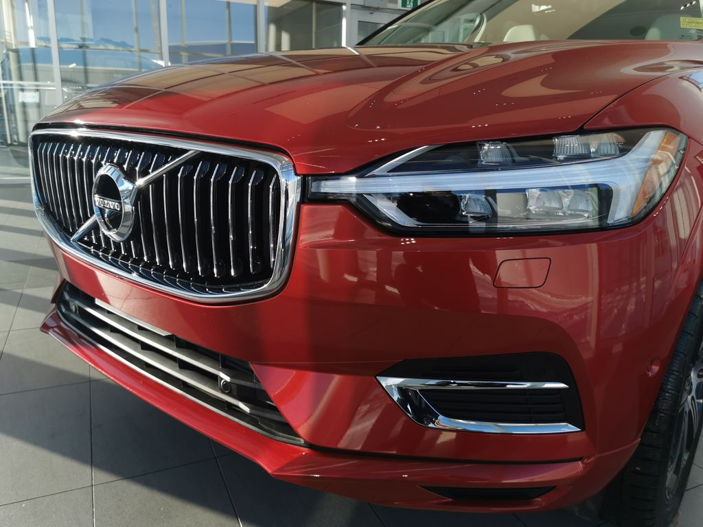 Red[Fusion Red Metallic] 2020 Volvo XC60 Left Front Head Light / Bumper and Grill in Edmonton AB