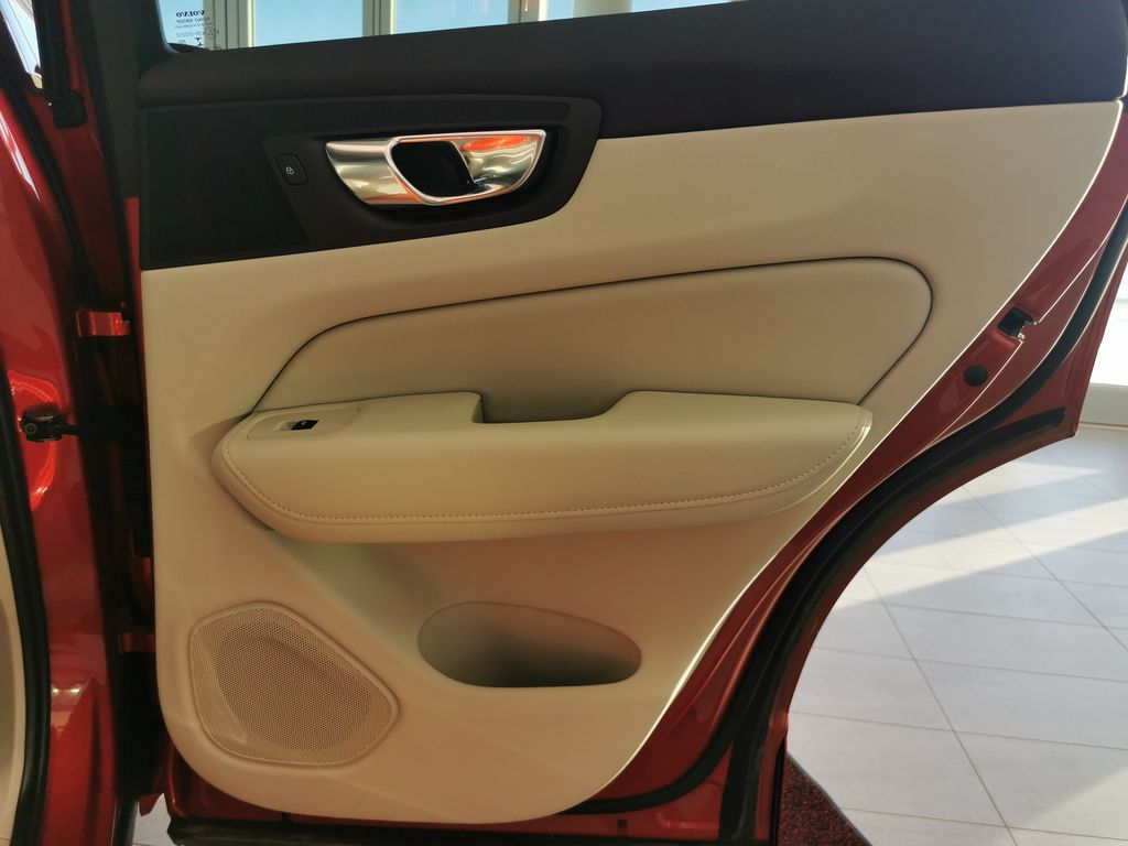 Red[Fusion Red Metallic] 2020 Volvo XC60 Right Rear Interior Door Panel Photo in Edmonton AB