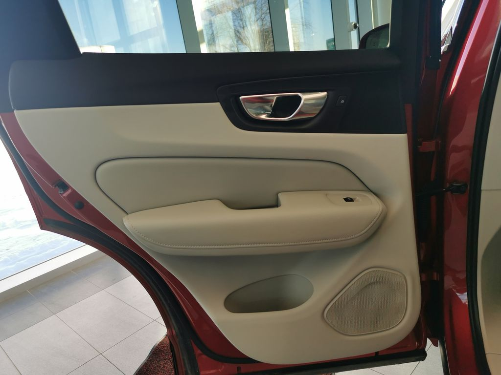 Red[Fusion Red Metallic] 2020 Volvo XC60 Left Rear Interior Door Panel Photo in Edmonton AB