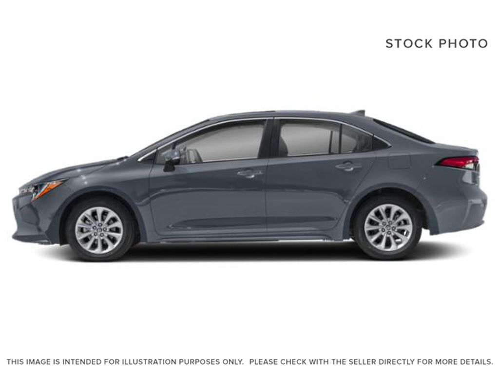Silver[Celestite] 2021 Toyota Corolla Left Side Photo in Beverly Hills NU