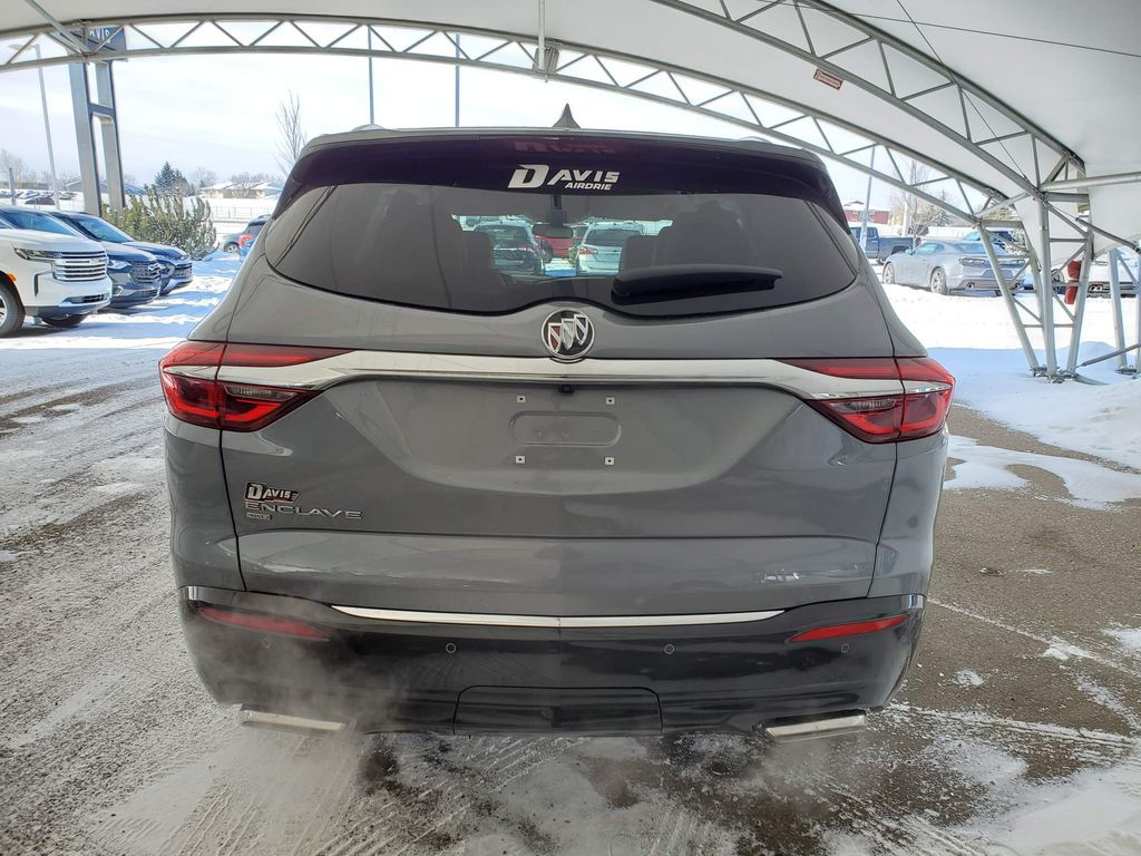Dark Grey 2021 Buick Enclave Apple Carplay/Android Auto Photo in Airdrie AB