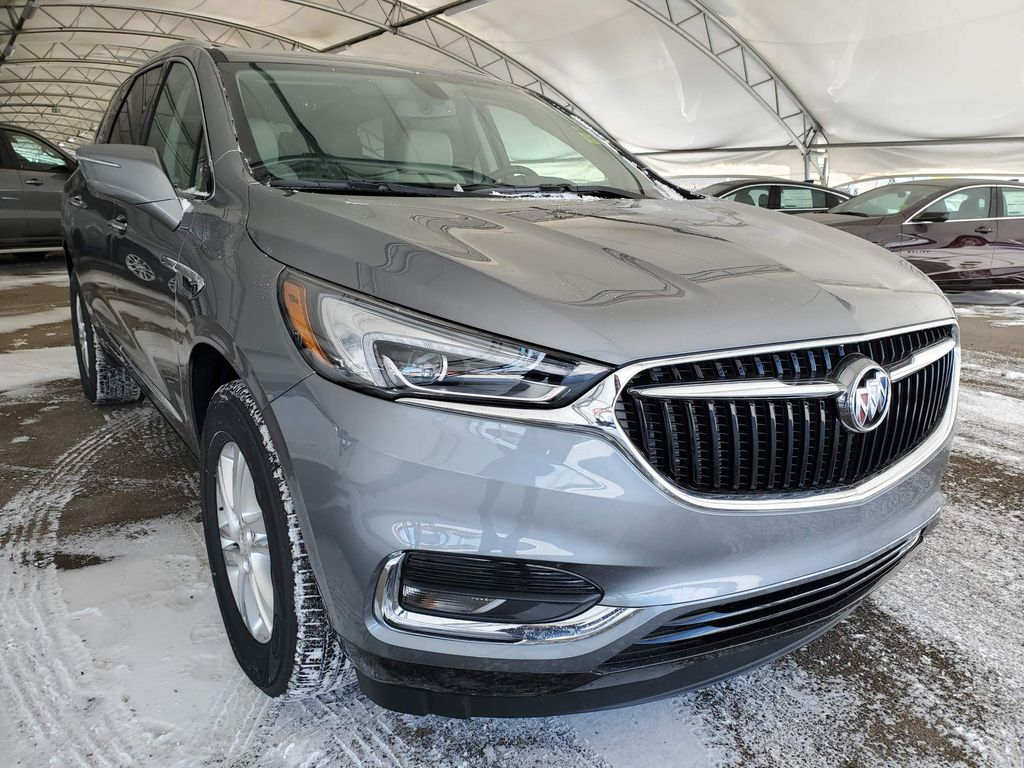 Dark Grey 2021 Buick Enclave