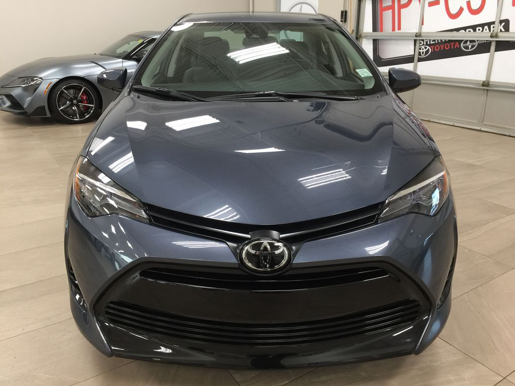 Silver[Classic Silver Metallic] 2019 Toyota Corolla CE Auto Front Vehicle Photo in Sherwood Park AB