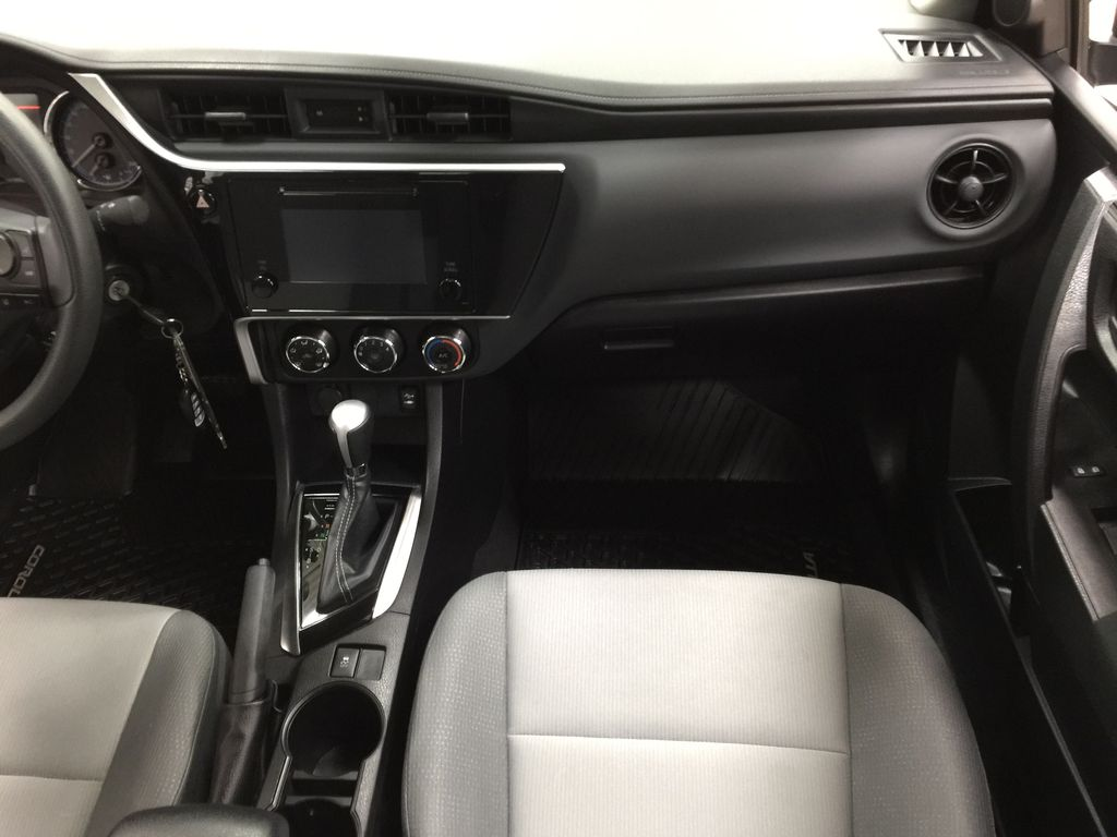 Silver[Classic Silver Metallic] 2019 Toyota Corolla CE Auto Right Front Seat Photo in Sherwood Park AB