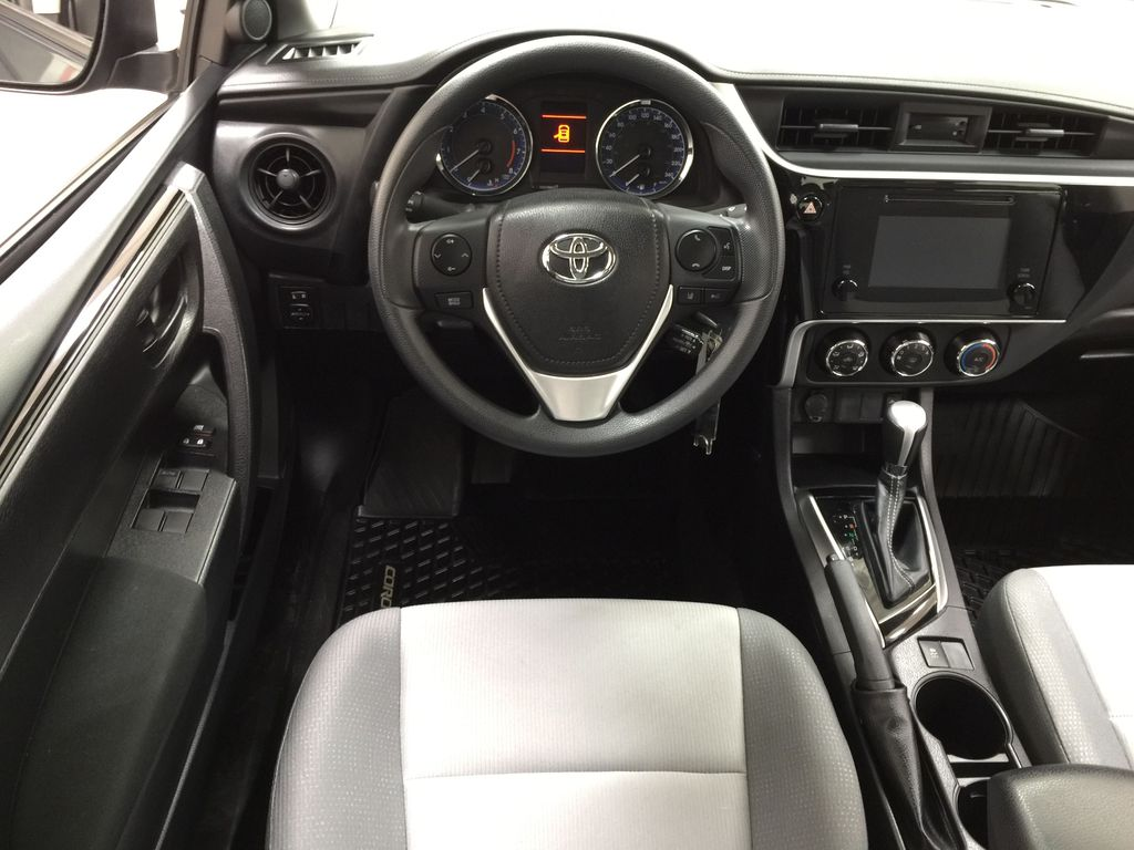 Silver[Classic Silver Metallic] 2019 Toyota Corolla CE Auto Left Front Seat Photo in Sherwood Park AB
