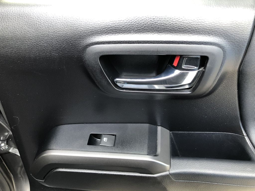Gray[Cement Grey Metallic] 2019 Toyota Tacoma SR5 Passenger Rear Door Controls Photo in Canmore AB