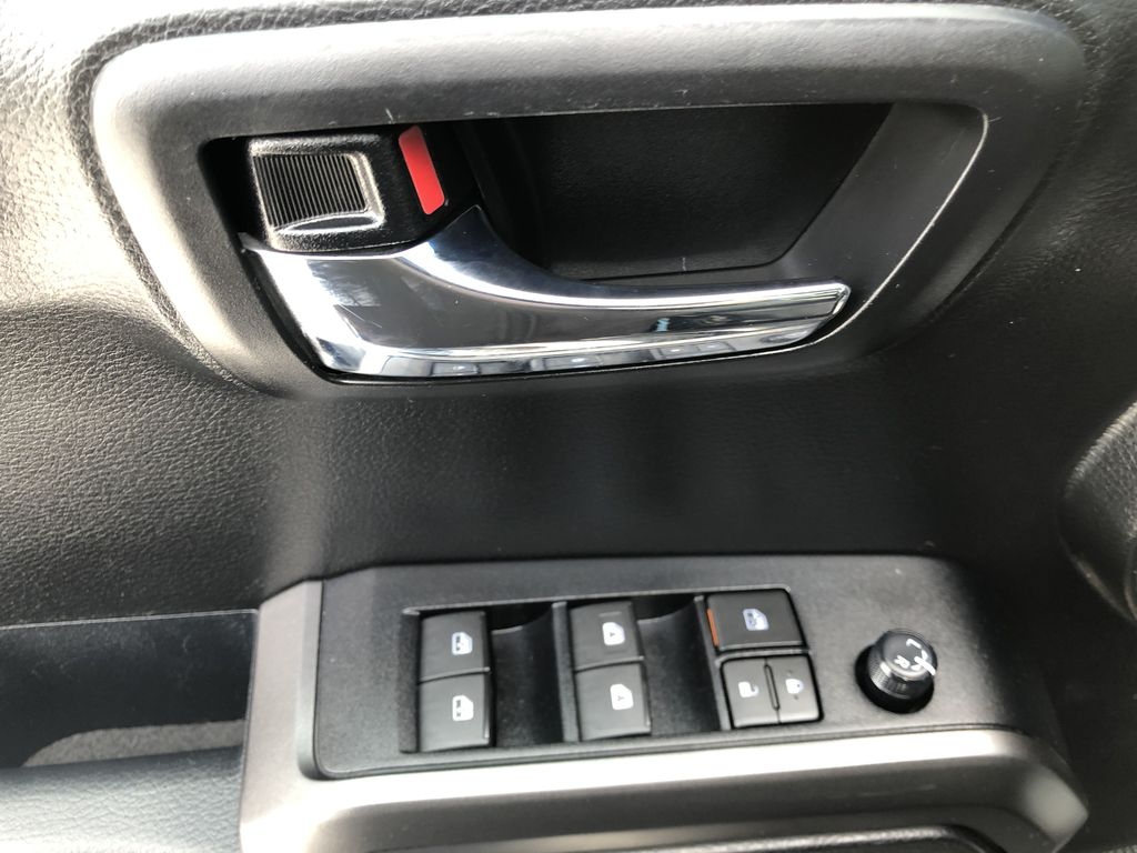 Gray[Cement Grey Metallic] 2019 Toyota Tacoma SR5  Driver's Side Door Controls Photo in Canmore AB