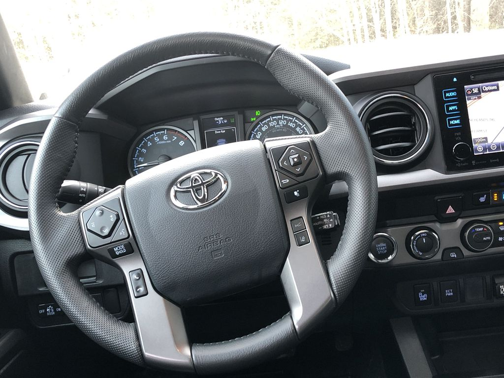 Gray[Cement Grey Metallic] 2019 Toyota Tacoma SR5 Strng Wheel: Frm Rear in Canmore AB
