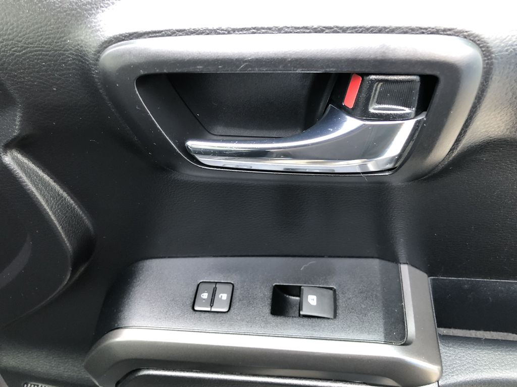 Gray[Cement Grey Metallic] 2019 Toyota Tacoma SR5 Passenger Front Door Controls Photo in Canmore AB