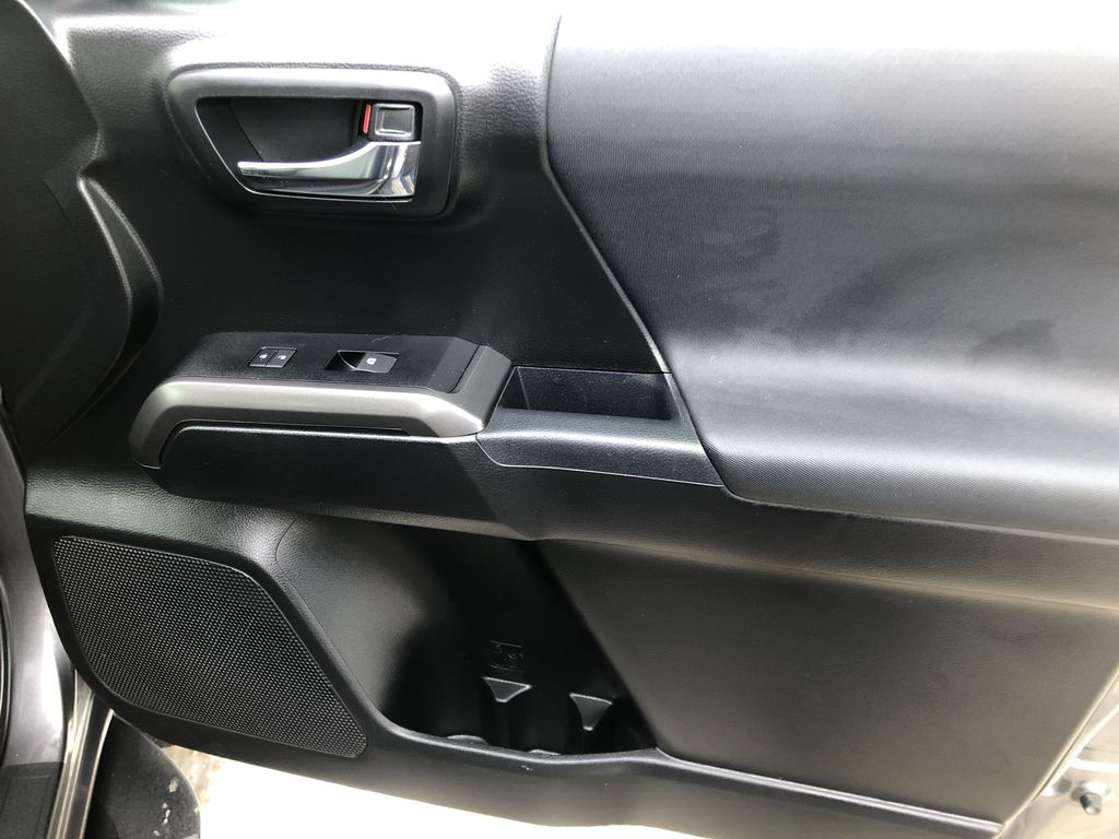 Gray[Cement Grey Metallic] 2019 Toyota Tacoma SR5 Right Front Interior Door Panel Photo in Canmore AB