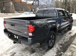 Gray[Cement Grey Metallic] 2019 Toyota Tacoma SR5 Right Rear Corner Photo in Canmore AB
