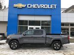 Gray[Cement Grey Metallic] 2019 Toyota Tacoma SR5 Left Side Photo in Canmore AB