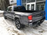 Gray[Cement Grey Metallic] 2019 Toyota Tacoma SR5 Left Rear Corner Photo in Canmore AB