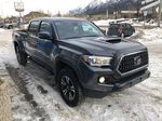 Gray[Cement Grey Metallic] 2019 Toyota Tacoma SR5 Right Front Corner Photo in Canmore AB