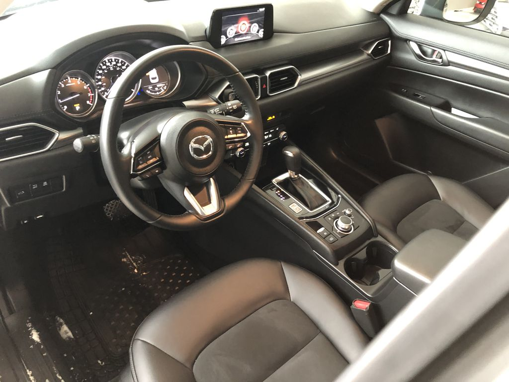 Grey 2019 Mazda CX-5 GS AWD Steering Wheel/Instruments Photo in Edmonton AB