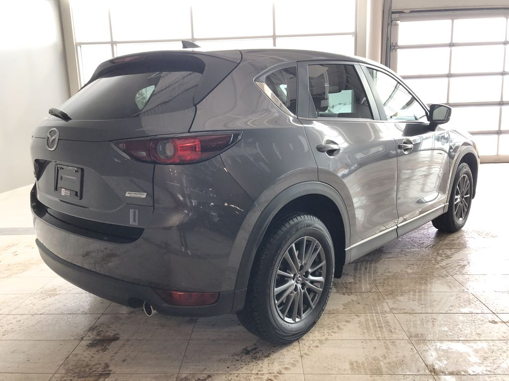 Grey 2019 Mazda CX-5 GS AWD Rear of Vehicle Photo in Edmonton AB