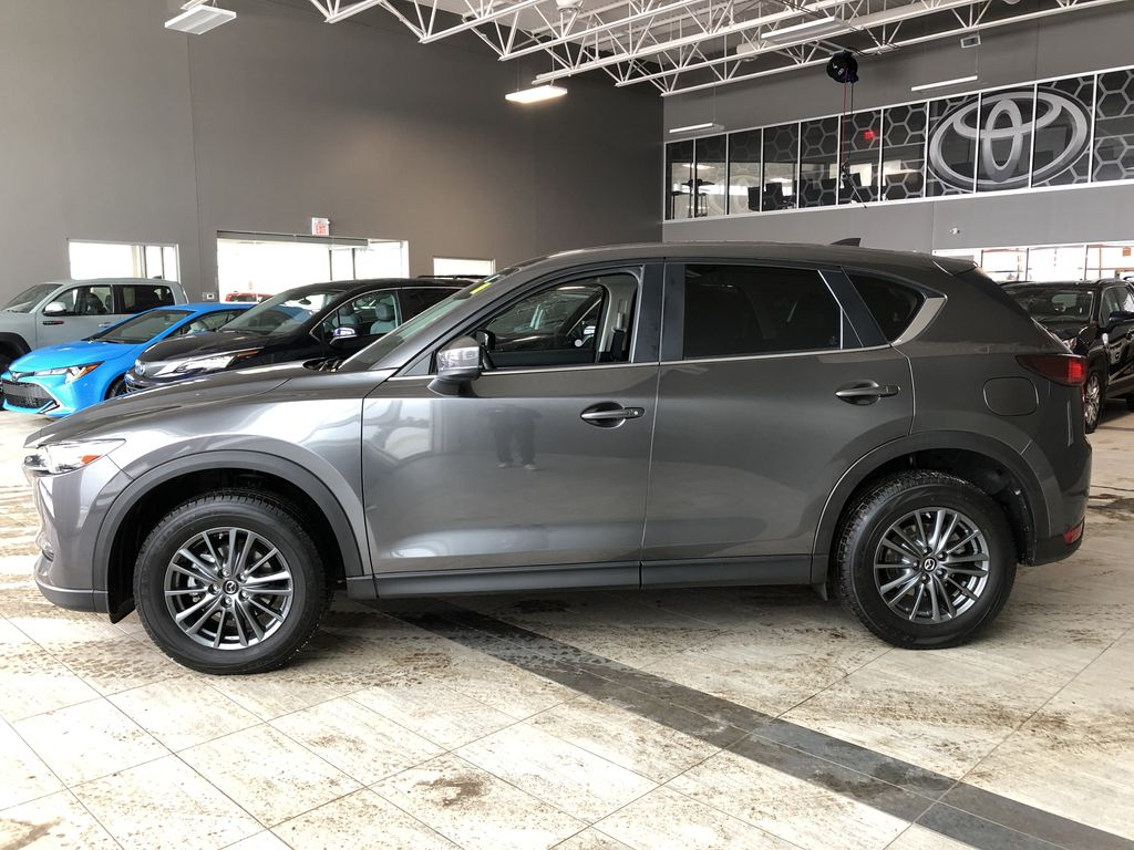 Grey 2019 Mazda CX-5 GS AWD Left Side Photo in Edmonton AB