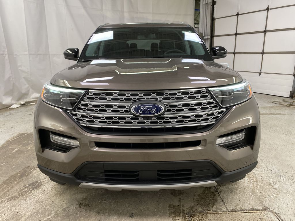 STERLING GREY METALLIC 2021 Ford Explorer Front Vehicle Photo in Dartmouth NS