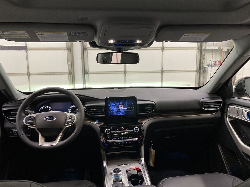 STERLING GREY METALLIC 2021 Ford Explorer Strng Wheel/Dash Photo: Frm Rear in Dartmouth NS