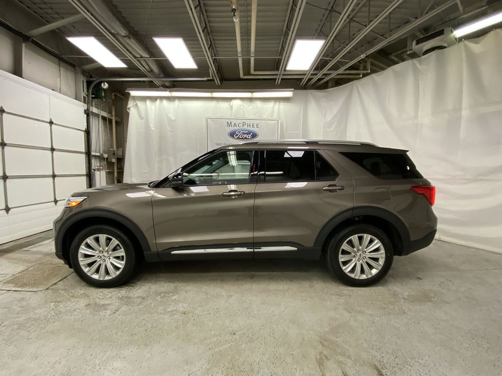 STERLING GREY METALLIC 2021 Ford Explorer Left Side Photo in Dartmouth NS