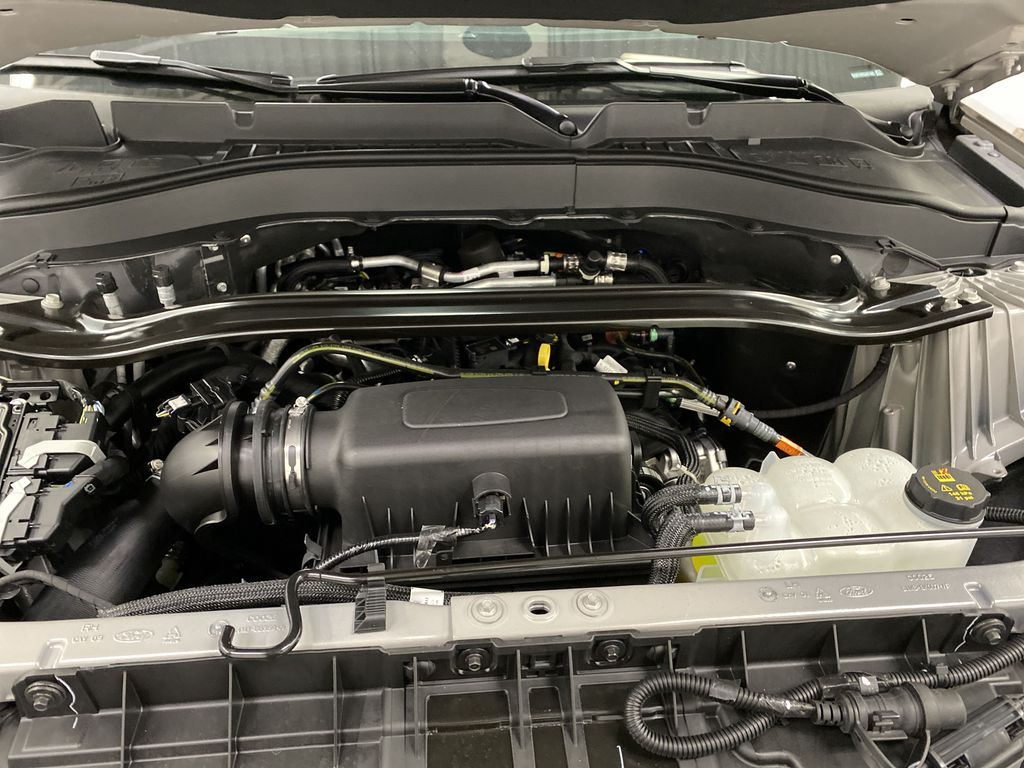 STERLING GREY METALLIC 2021 Ford Explorer Engine Compartment Photo in Dartmouth NS
