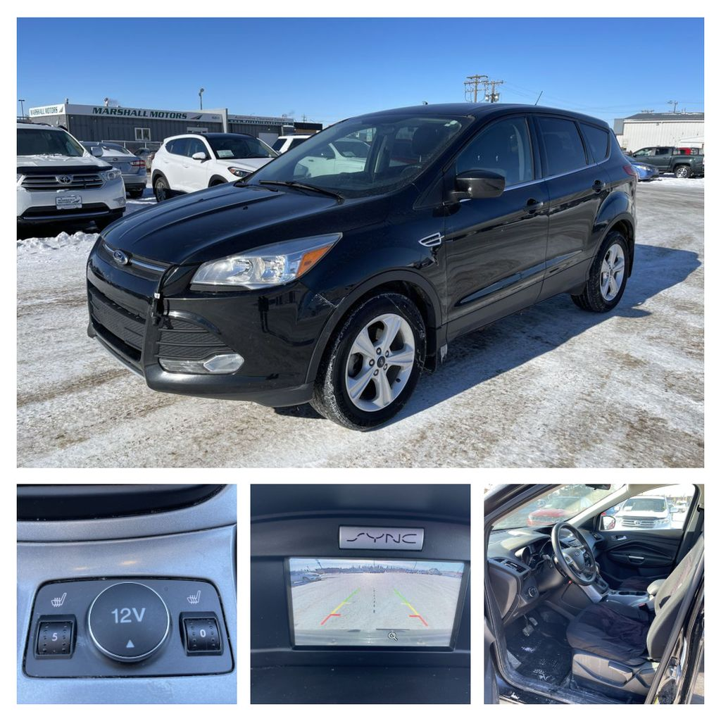 Black 2015 Ford Escape FWD 4dr SE *Heated Seats* *Backup Cam* *Bluetooth*