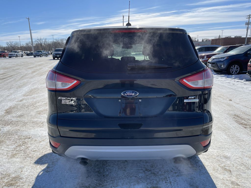 Black 2015 Ford Escape FWD 4dr SE *Heated Seats* *Backup Cam* *Bluetooth* Rear of Vehicle Photo in Brandon MB