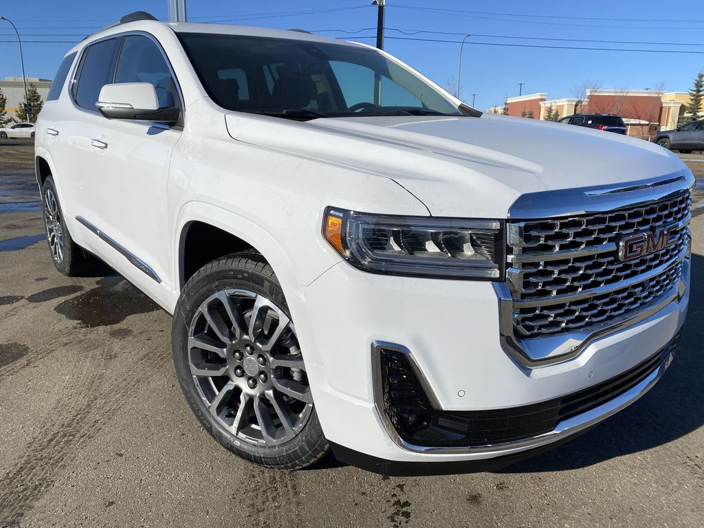 White[Summit White] 2021 GMC Acadia