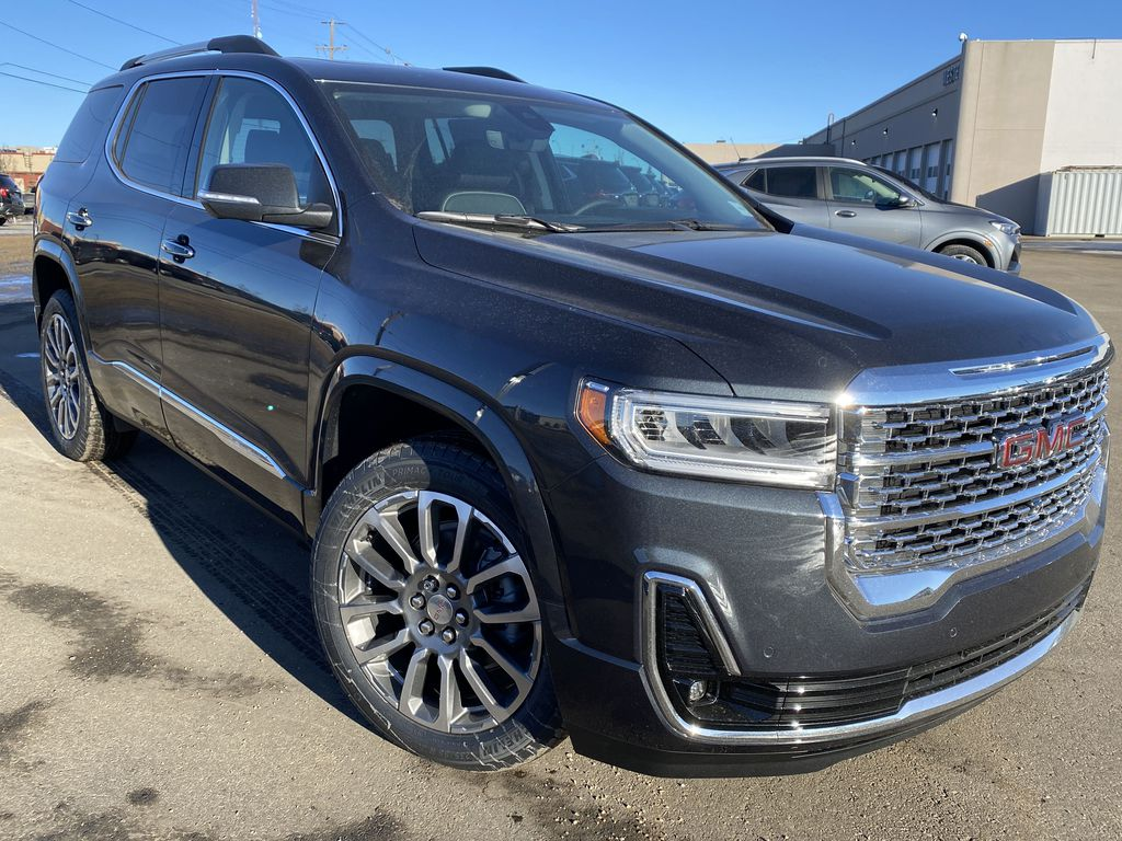 Green[Hunter Metallic] 2021 GMC Acadia