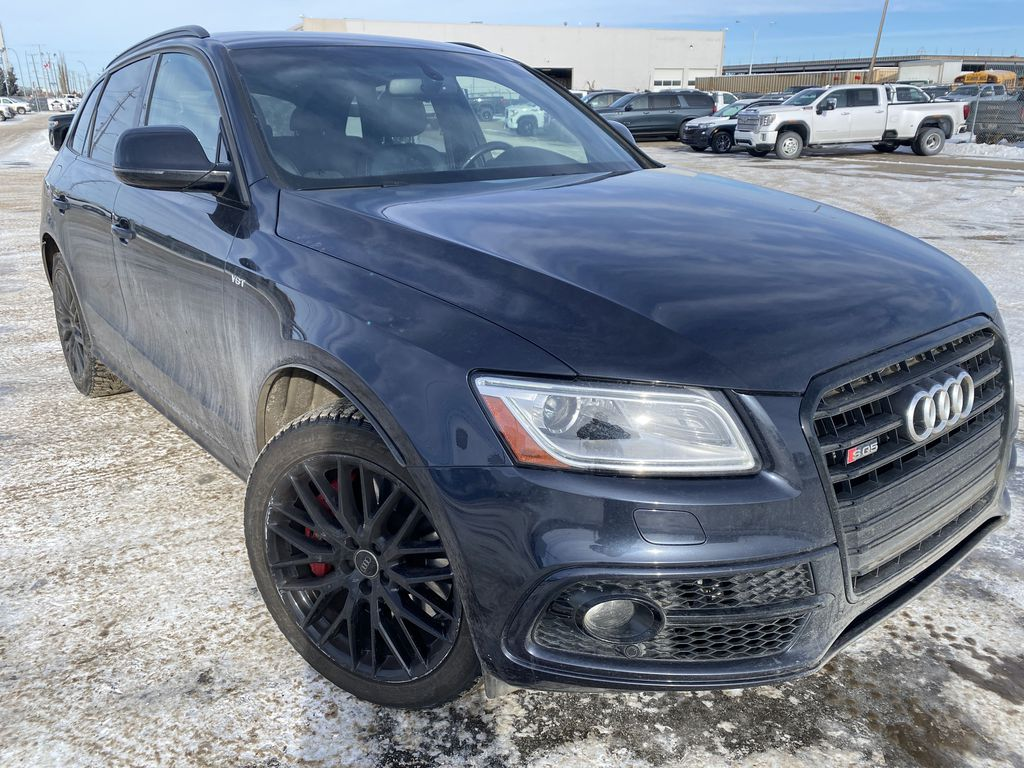 Black[Brilliant Black] 2017 Audi SQ5