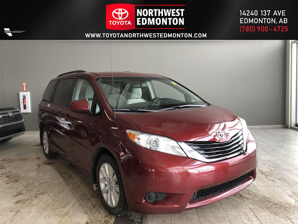 Red 2013 Toyota Sienna LE 7-Passenger