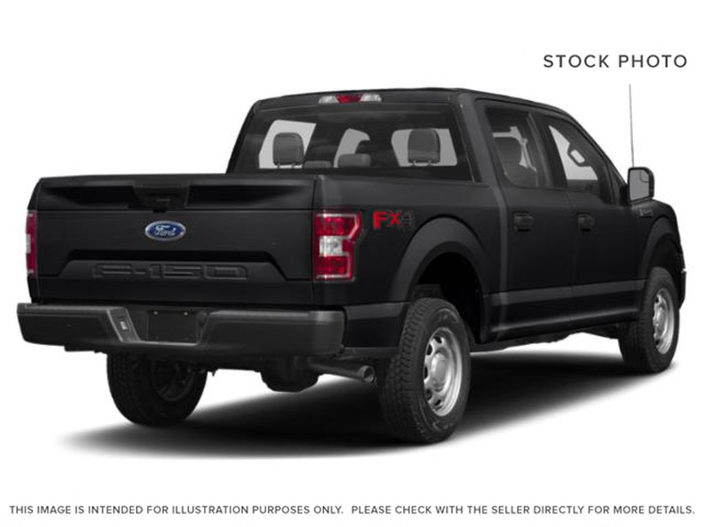 Black[Shadow Black] 2018 Ford F-150 Right Rear Corner Photo in Fort Macleod AB