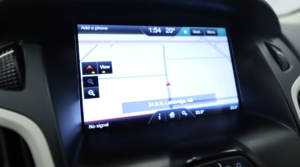 2013 Ford Focus Steering Wheel and Dash Photo in Lethbridge AB