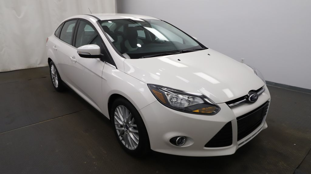 2013 Ford Focus Left Front Head Light / Bumper and Grill in Lethbridge AB
