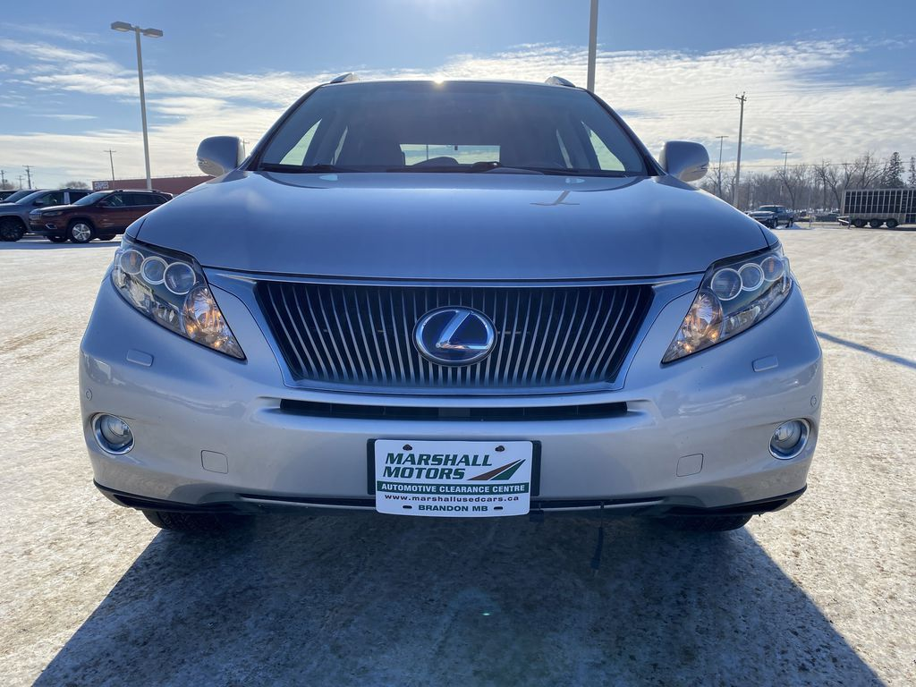 Silver[Tungsten Pearl] 2012 Lexus RX 450h AWD 4dr Hybrid *Heated/Cooled Seats* *NAV* *Backup Cam* Left Front Head Light / Bumper and Grill in Brandon MB