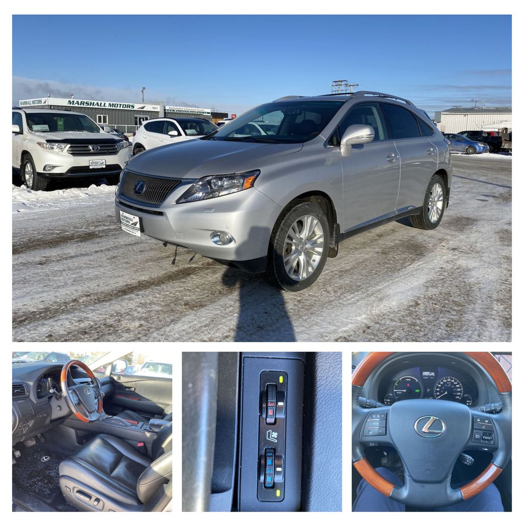 Silver[Tungsten Pearl] 2012 Lexus RX 450h AWD 4dr Hybrid *Heated/Cooled Seats* *NAV* *Backup Cam*