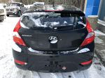 Black[Ultra Black Pearl] 2015 Hyundai Accent Rear of Vehicle Photo in Canmore AB