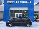 Black[Ultra Black Pearl] 2015 Hyundai Accent Left Side Photo in Canmore AB