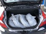 Black[Ultra Black Pearl] 2015 Hyundai Accent Trunk / Cargo Area Photo in Canmore AB