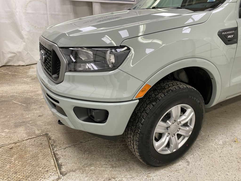 CACTUS GREY 2021 Ford Ranger Left Front Corner Photo in Dartmouth NS