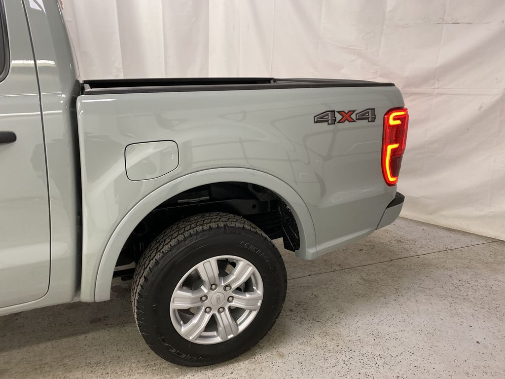 CACTUS GREY 2021 Ford Ranger Left Rear Corner Photo in Dartmouth NS