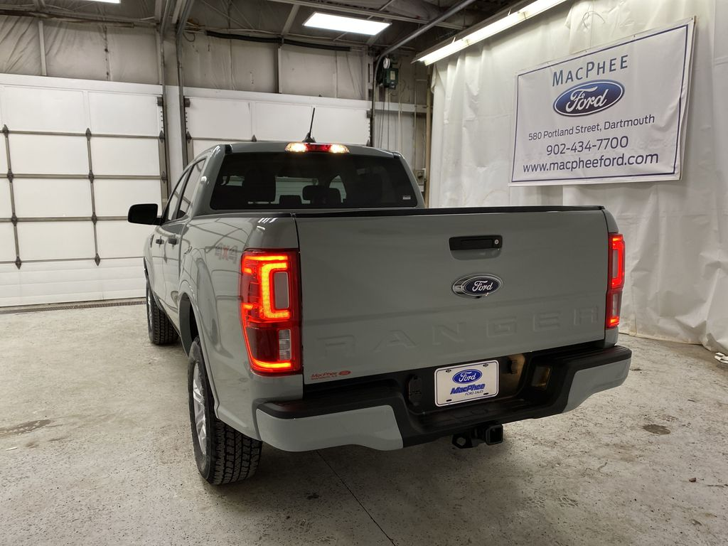 CACTUS GREY 2021 Ford Ranger Rear of Vehicle Photo in Dartmouth NS